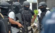 Indonesian authorities arrested four terrorist suspects