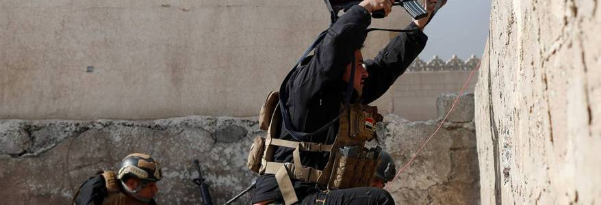 Iraqi forces step up attack on Islamic State terrorists