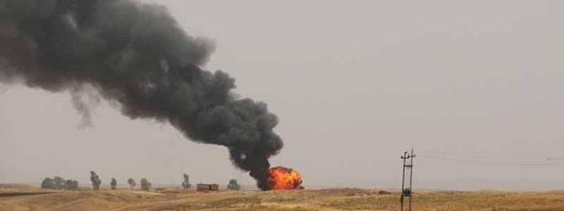 Islamic State terrorists attacked two oil wells in Kirkuk