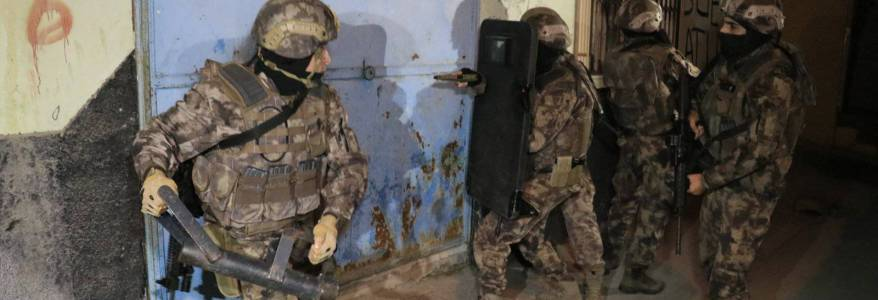 Turkish security forces detained Islamic State terrorists planning terror attack