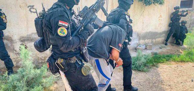 Two Islamic State terrorists detained and tens of IEDs seized in Bagdad and Kirkuk