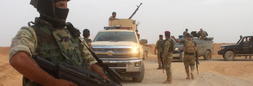 Policeman injured in an Islamic State terror attack in Diyala