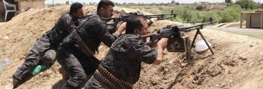 Islamic State terrorists launched attack against Peshmerga forces in Kirkuk