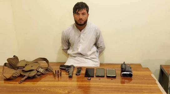 Al Qaeda recruitment in-charge arrested by the authorities in Nangarhar