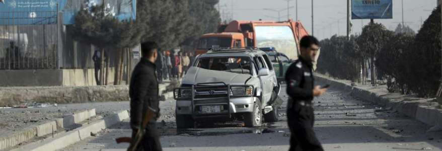 At least two people killed and five wounded in three blasts in Kabul