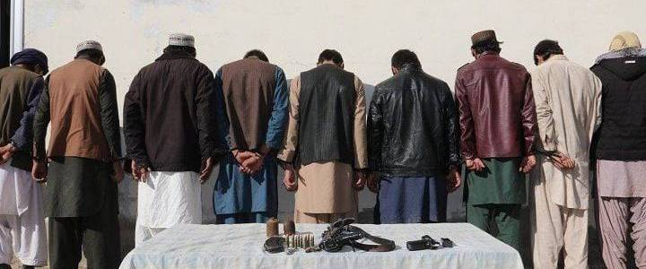 Islamic State intelligence member with his six colleagues arrested in Nangarhar