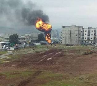 GFATF - LLL - Several people killed as bomb blast hits Afrin in northern Syria
