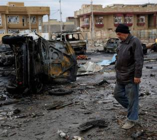 GFATF - LLL - Car bomb blast killed seven security forces in western Iraq