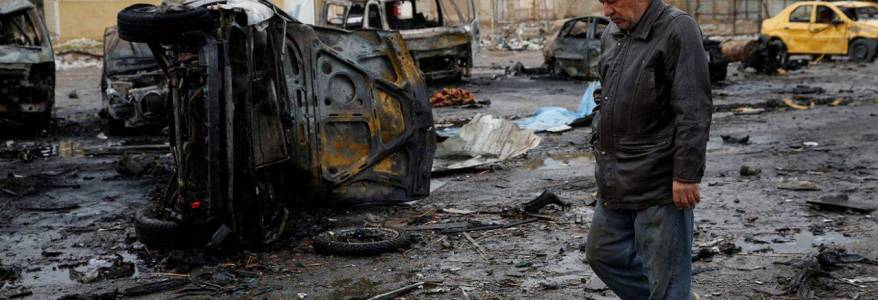 Car bomb blast killed seven security forces in western Iraq