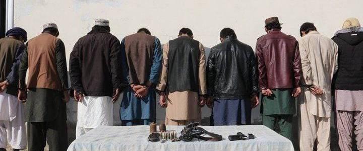 Five Islamic State terrorists arrested in Nangarhar
