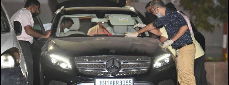 National Investigation Agency seized second Mercedes car in Mukesh Ambani terror case