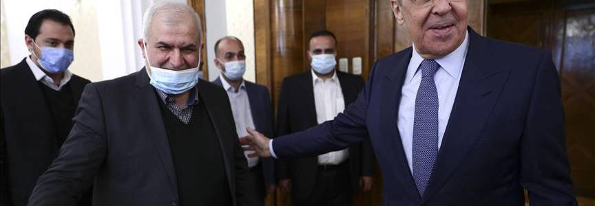 Russian diplomat Lavrov meets with delegation from Hezbollah terrorist group