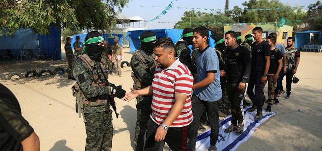 Hamas terrorist group training children and old men for the next war