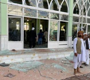 GFATF - LLL - At least sixty people are killed in blast at Shi'ite mosque in Afghan city of Kandahar