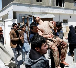 GFATF - LLL - Eight people killed at Taliban funeral in bomb attack blamed on Islamic State branch in Afghanistan