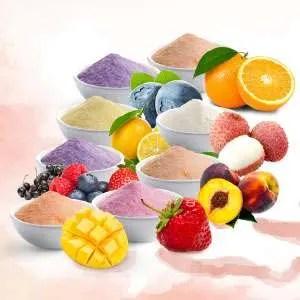 Fruit Flavors Juice Powder