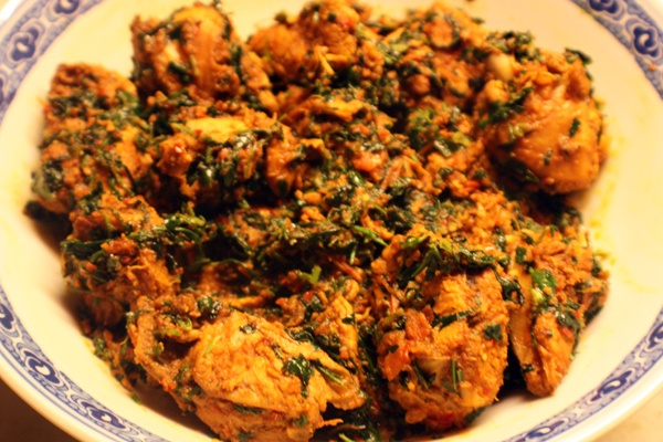 Methi Chicken  Girl Friends Cooking Club