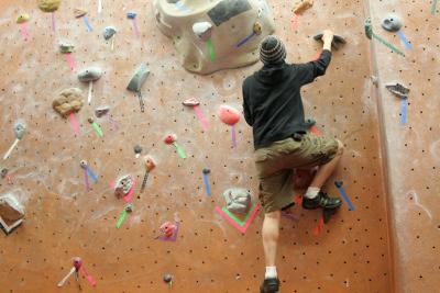 find  rock climbing