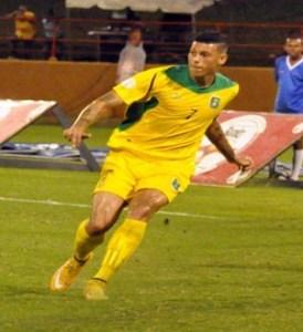 Matthew Briggs in action for Guyana