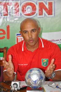 Coach Mark Rodrigues
