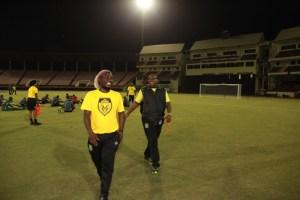 Head Coach Jamaal Shabaaz and Co-Coach Wayen Dover