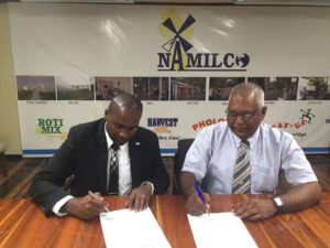 Signing of MoU_GFF-NAMILCO