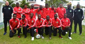 National U-17 Team To Martinique (Encampment)1