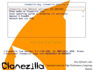 CloneZilla-Live