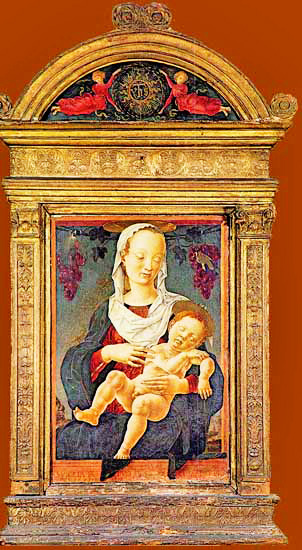 Cosm 232 Tura Mother And Child In Italian Early Renaissance