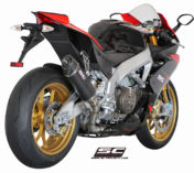 EXHAUST APRILIA RSV4 SILENCER OVAL CARBON