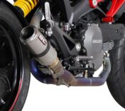 FULL EXHAUST SYSTEM FULL TITANIUM DUCATI MONSTER 796