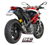 FULL TITANIUM EXHAUST SYSTEM FOR DUCATI MONSTER 796 LOW POSITION