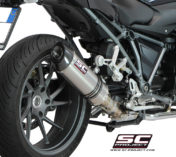 EXHAUST SILENCER BMW R1200R TITANIUM