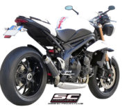 SC-PROJECT EXHAUST FOR SPEED TRIPLE 2011