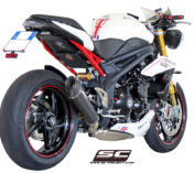 SPEED TRIPLE 1050 CONIC AUSPUFF