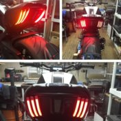 Ducati Diavel Rear Turn Signals