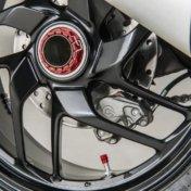 Wheel valve cap kit