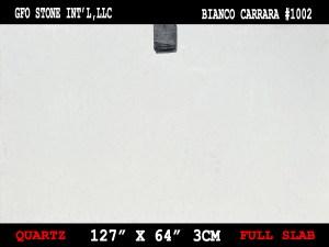 BIANCO CARRARA #1002