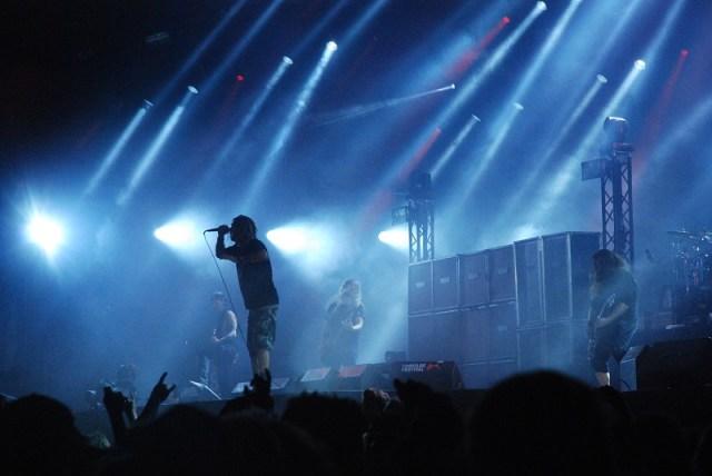 Lamb of God rykkede Arena rundt