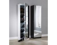 Mirrored Shoe Cabinet