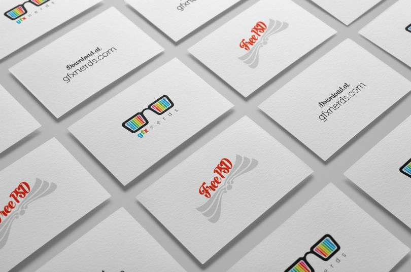 Business cards mockup free psd free graphics business cards mockup free psd reheart Image collections