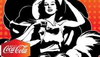 Vintage Coca-Cola Poster Vector - Free Graphics