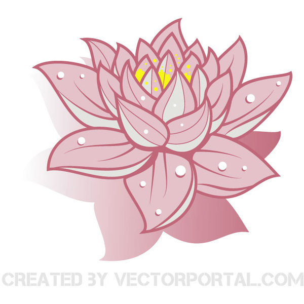 Free Vector Lotus Flower Free Graphics