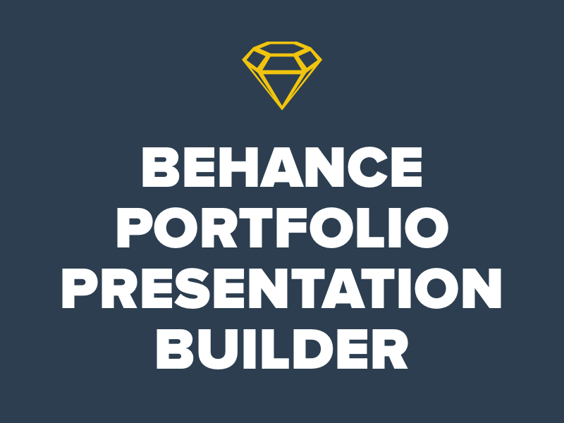 behance portfolio presentation template and builder - free graphics, Presentation templates