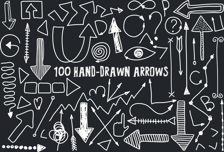 Handrawn_arrows