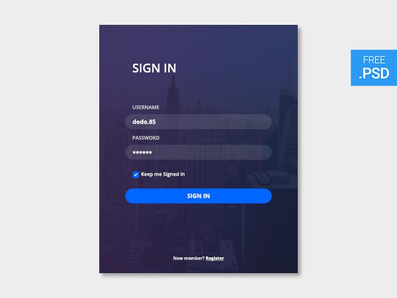 creativescastle_002-signin_dribbble