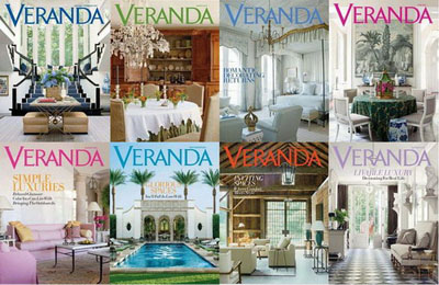 Veranda Magazine - 2011 Full Collection
