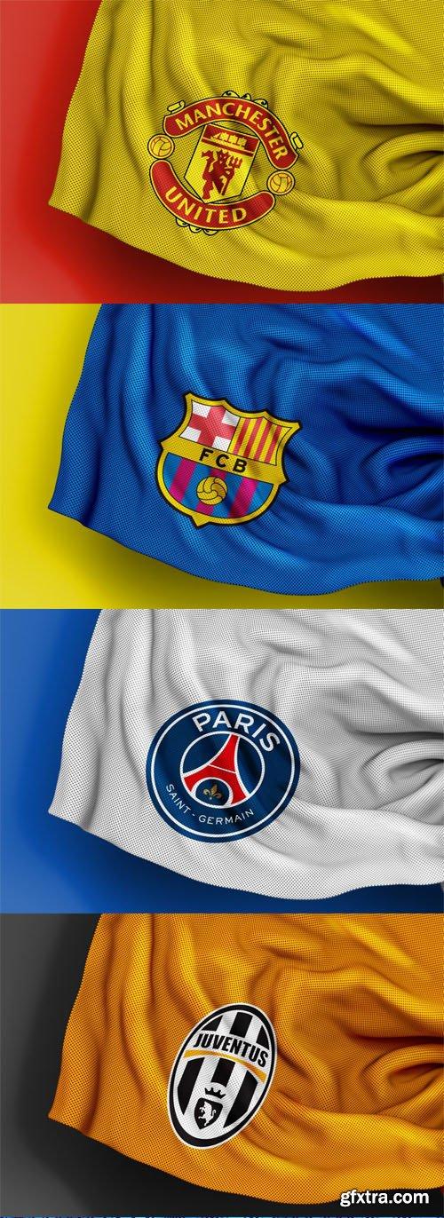 Download Sport Jersey Texture Logo PSD Mockups Templates » GFxtra
