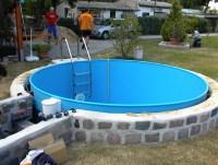 Schwimmbecken : Modell D (rund)