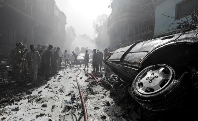 97 Dead Two Survivors In Pakistan Plane Crash Gg2